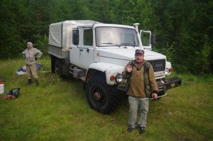 Alek et son camion